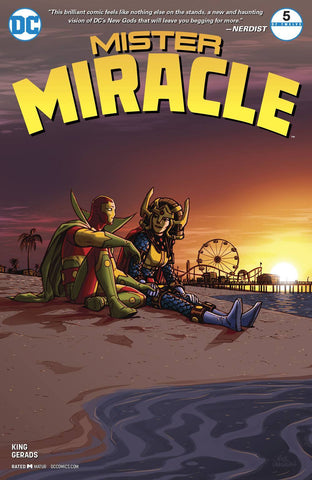 MISTER MIRACLE #5 (OF 12) (MR) (2017)