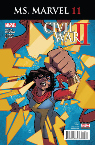 MS MARVEL #11 (2016)