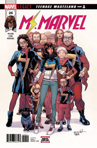 MS MARVEL #25 LEG (2017)