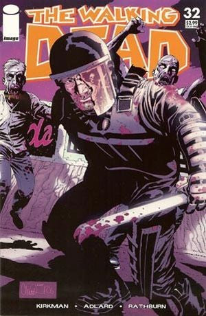 The Walking Dead #32 Image Comics