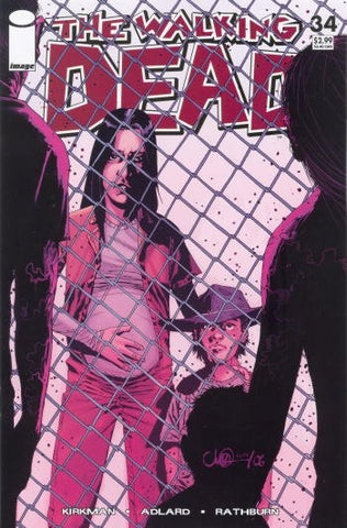 The Walking Dead #34 Image Comics