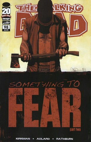 The Walking Dead #98 Image Comics (Blemished)