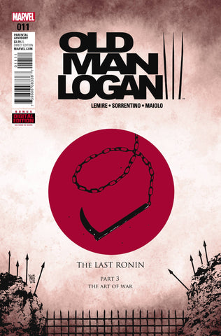 OLD MAN LOGAN #11 (2016)