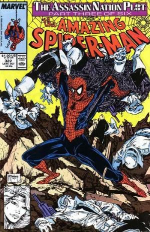 AMAZING SPIDER-MAN #322