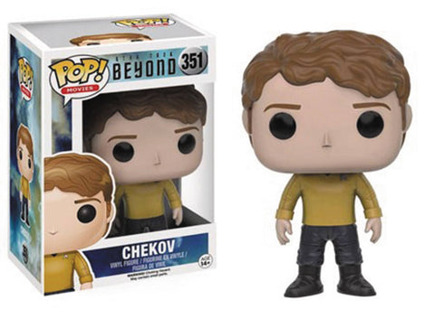 POP STAR TREK BEYOND CHEKOV VINYL FIG