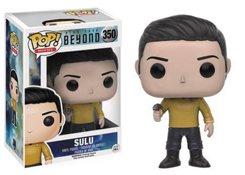 POP STAR TREK BEYOND SULU VINYL FIG