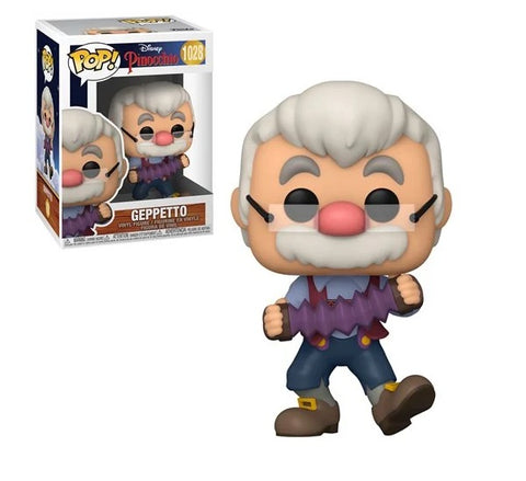 Pinocchio Geppetto with Accordion Pop! Vinyl Figure
