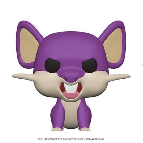 Pokemon Rattata Pop! Vinyl Figure