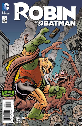 ROBIN SON OF BATMAN #5 MONSTERS VARIANT