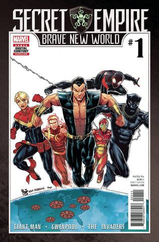 SECRET EMPIRE BRAVE NEW WORLD #1 (OF 5) (2017)