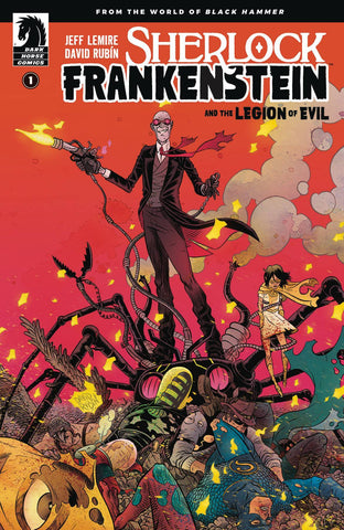 SHERLOCK FRANKENSTEIN & LEGION OF EVIL #1 (OF 4) MAIN (2017)