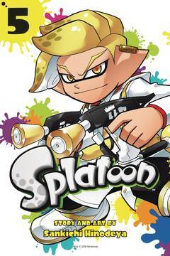 SPLATOON MANGA GN VOL 05 (2018)