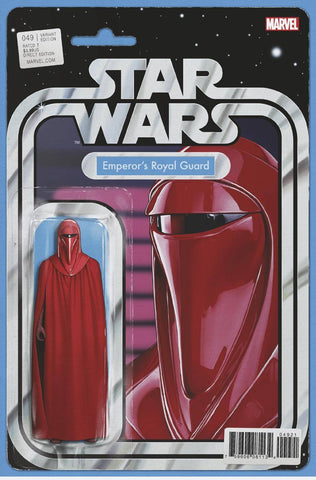 STAR WARS #49 CHRISTOPHER ACTION FIGURE VAR (2018)