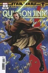 STAR WARS AGE REPUBLIC QUI-GON JINN #1 MCKONE PUZZLE PC VAR (2018)