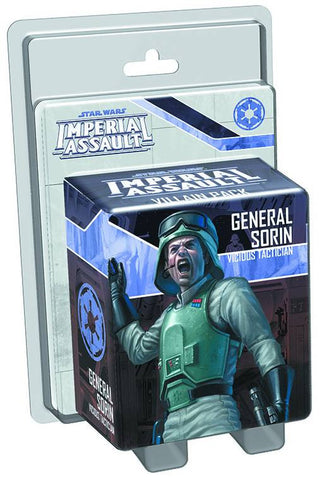 STAR WARS IMPERIAL ASSAULT GENERAL SORIN VILLAIN PACK