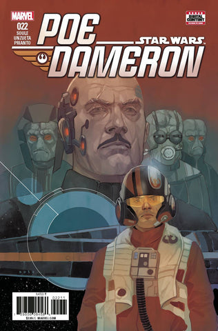STAR WARS POE DAMERON #22 (2017)