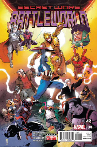 SECRET WARS BATTLEWORLD #1 (OF 4)