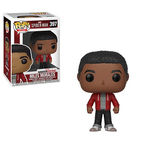 Spider-Man Miles Morales Pop! Vinyl Figure #397