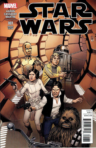 Star Wars #1 (2015) McLeod Variant Cover