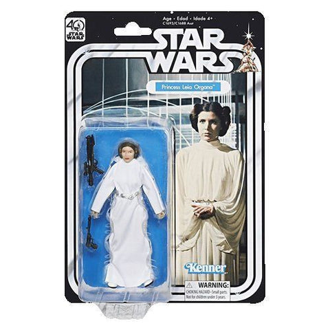 Star Wars 40th Anniversary Princess Leia Black Series