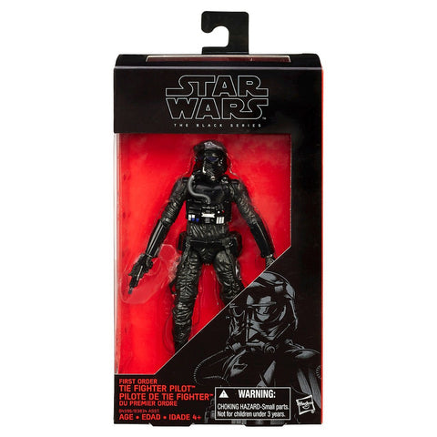 Star Wars VII Black Series Wave 3 #11 First Order Tie Fighter Pilot