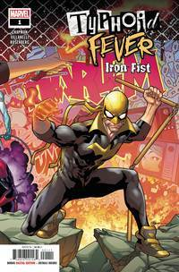TYPHOID FEVER IRON FIST #1 (2018)