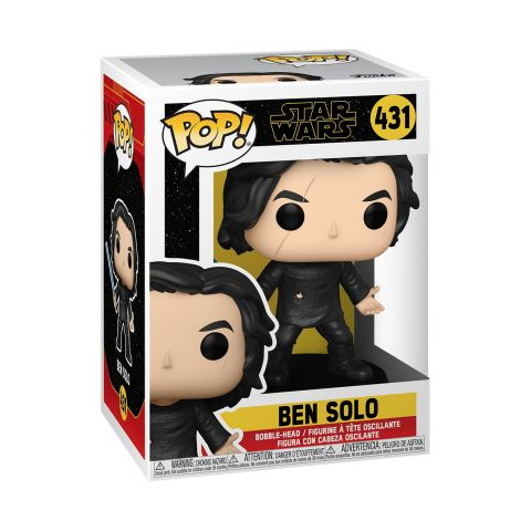 The Rise of Skywalker Ben Solo with Blue Saber Pop! Vinyl Figure