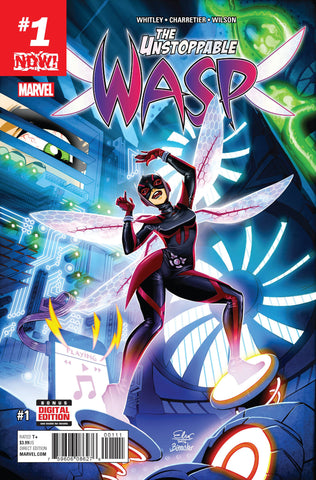 UNSTOPPABLE WASP #1 (2017)