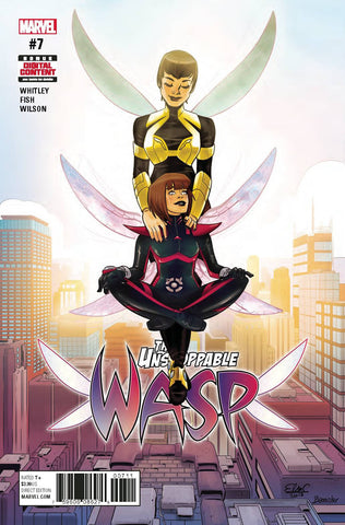 UNSTOPPABLE WASP #7 (2017)