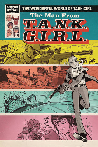 WONDERFUL WORLD OF TANK GIRL #3 CVR A PARSON (2018)