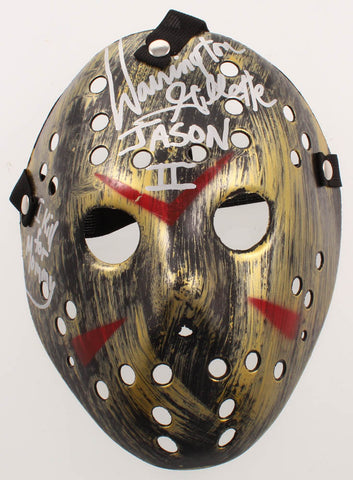 "Warrington Gillette Signed ""Friday the 13th"" Mask"