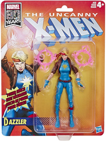 X-MEN LEGENDS RETRO 6IN DAZZLER