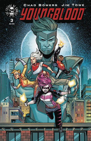 YOUNGBLOOD #3 CVR A TOWE (2017)