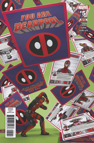 YOU ARE DEADPOOL #5 (OF 5) (2018)