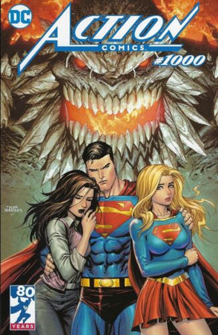 ACTION COMICS #1000 UNKNOWNCOMICBOOKS EXCLUSIVE TYLER KIRKHAM