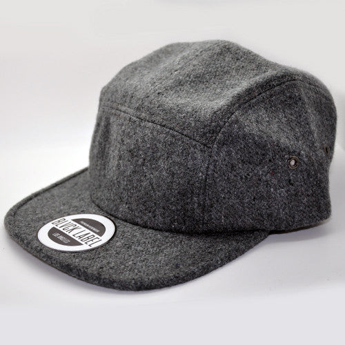 5PC -  GRAY WOOL