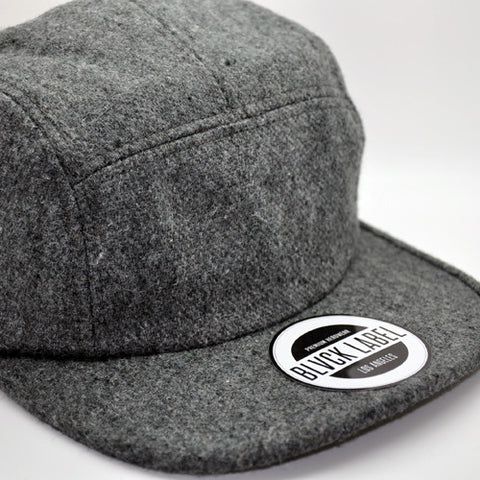 5PC -  GREY WOOL