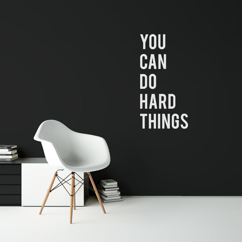 VD - 001 - You Can Do Hard Things