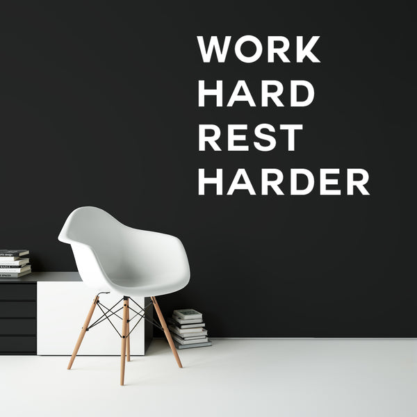 VD - 007 - Work Hard Rest Harder