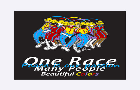 One Race - Peace is our passion