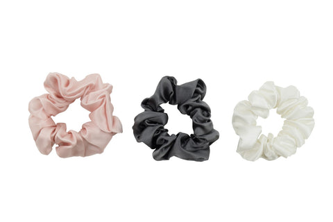 mulberry silk scrunchies for hair