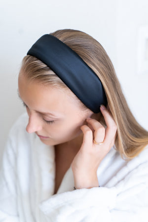 Mulberry Silk Spa Headband