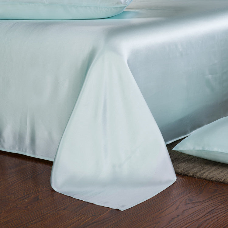 ... Silk Sheets   19 Momme Pure Mulberry Silk Sheet Set ...