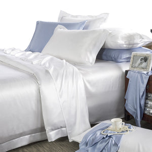 Luxury Wedding Bedding Pure Silk Sheets