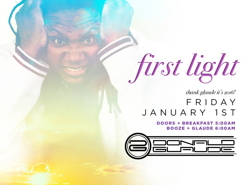 First Light Day Party | Donald Glaude at Parq San Diego Nightclub