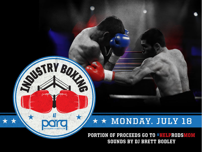 Industry Boxing at Parq San Diego Nightclub