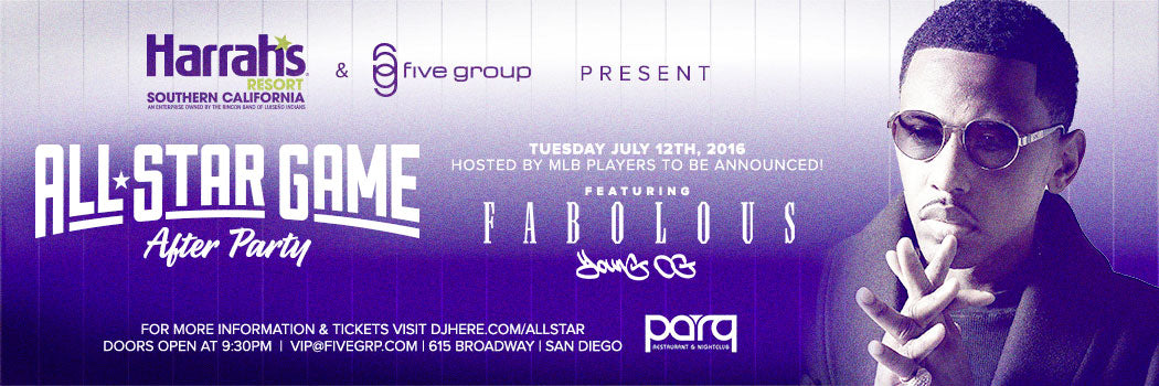 MLB All Star Game After Party at Parq Nightclub San Diego