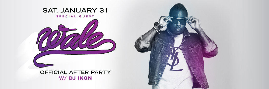 Wale Official After Party at Parq Nightclub San Diego