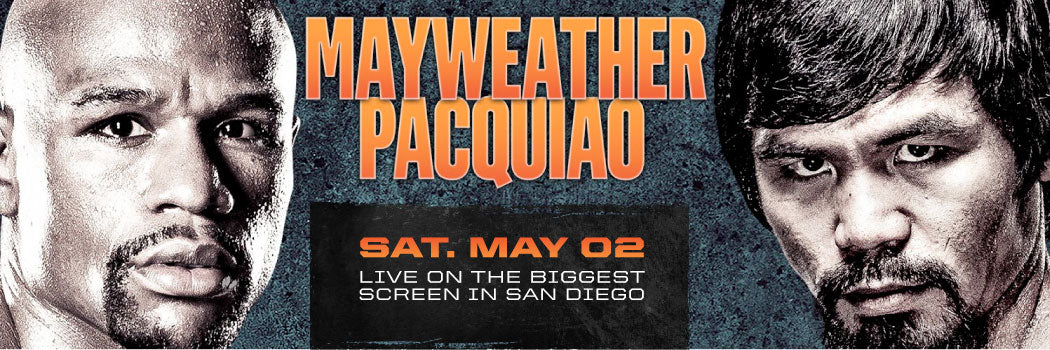 Fight Night: Mayweather vs Pacquiao Viewing Party at Parq San Diego