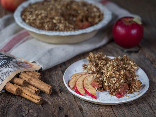 Spriced Apple Crumble